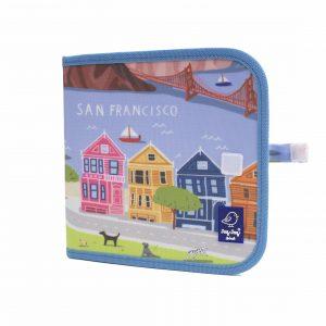 "Jaq Jaq Bird Kreide Malbuch Cities of Wonder ""San Francisco"""