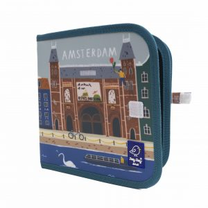 "Jaq Jaq Bird Kreide Malbuch Cities of Wonder ""Amsterdam"""