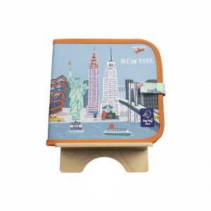 "Jaq Jaq Bird Kreide Malbuch Cities of Wonder ""New York"""